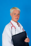 Nurse stethoscope folder Stock Photos