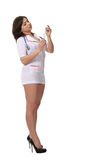 Nurse with a syringe Royalty Free Stock Image