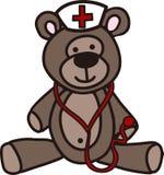 Nurse Teddy Bear Stock Photos