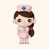 Nurse theme elements Stock Photography