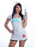 Nurse in uniform Stock Image