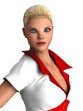 Nurse in uniform Royalty Free Stock Photos