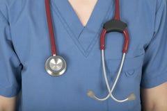 Nurse uniform and stethoscope