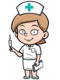 Nurse. Vector illustration of Female Nurse stock illustration