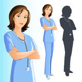 Nurse (woman) stock photos