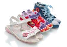 Nurseries footwear. Royalty Free Stock Photography