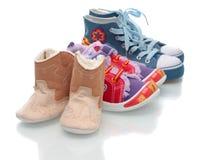 Nurseries footwear, isolated. Stock Photography