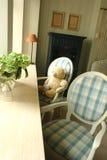 Nursery. A part of nursery with teddy bear Stock Image