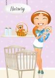 nursery illustrazione vettoriale