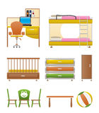 Nursery And Children Room Objects Stock Photo