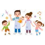 Nursery and children. Vector illustration.Original paintings and drawing Stock Photos