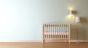 Nursery Composition Royalty Free Stock Photo
