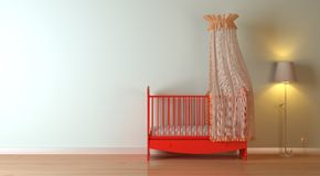 Nursery composition Stock Images
