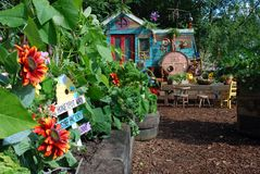 Nursery de Sr. Bloom's foto de archivo