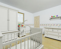 Nursery interior Stock Photos