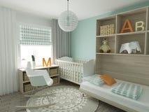 Nursery interior Royalty Free Stock Photography