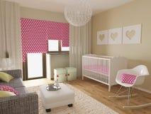 Nursery interior Royalty Free Stock Image