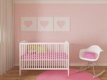 Nursery interior Royalty Free Stock Photo