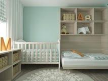 Nursery interior Stock Images