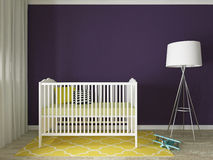 Nursery interior Royalty Free Stock Photo