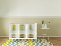 Nursery interior Royalty Free Stock Image