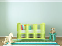 Nursery interior Stock Images