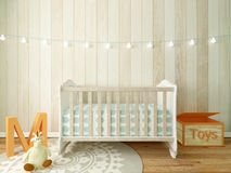 Nursery interior Stock Photo