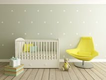 Nursery interior Stock Image