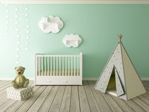 Nursery interior Royalty Free Stock Photography