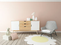 Nursery interior Stock Photography