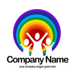 Nursery Logo Royalty Free Stock Photography