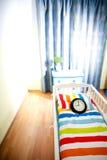 Nursery room await born of child Royalty Free Stock Image