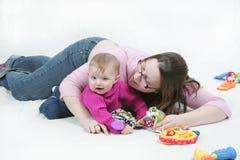 Nursery scene Royalty Free Stock Images