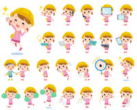 Nursery school girl 2 Royalty Free Stock Photo