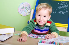 Nursery school Stock Image