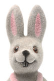Nursery Toy, Hare. Glance from Childhood, Portrait of the Friend, Nursery Toy Royalty Free Stock Photos