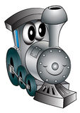 Nursery toy merry locomotive Stock Photography