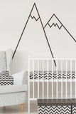 Nursery with white cot Royalty Free Stock Photo