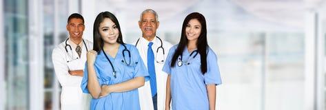 Nurses and Doctors Stock Image