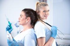 Nurses in hospital royalty free stock image