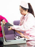 Blood pressure check Royalty Free Stock Photography
