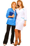 Nurses medical team Royalty Free Stock Image