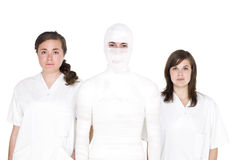 Nurses and patient Royalty Free Stock Photos
