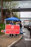 Nurses on strike Toledo Oh royalty free stock photos