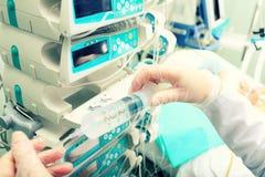 Nurses work Stock Photography