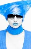 nursey bleu photographie stock libre de droits
