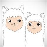 Nursing Animal Cartoon Stock Photography