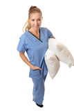 Nursing assistance Royalty Free Stock Image