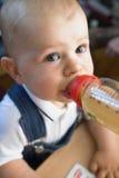 Nursing bottle Stock Images