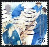 Nursing Care UK Postage Stamp Royalty Free Stock Image